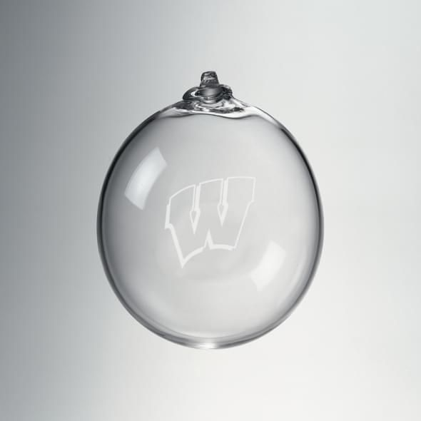 Wisconsin Bauble Ornament by Simon Pearce - Image 1