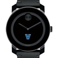 Villanova University Men's Movado BOLD with Leather Strap
