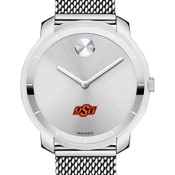 Oklahoma State University Women's Movado Stainless Bold 36