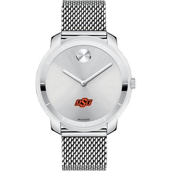 Oklahoma State University Women's Movado Stainless Bold 36 - Image 2