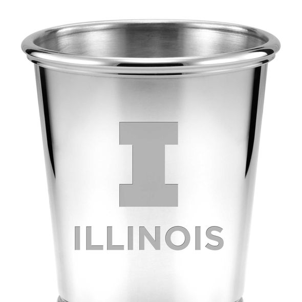 University of Illinois Pewter Julep Cup - Image 2