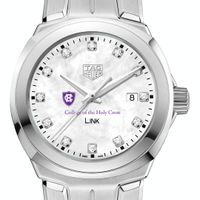 Holy Cross TAG Heuer Diamond Dial LINK for Women