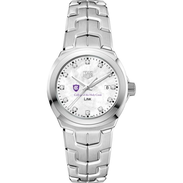Holy Cross TAG Heuer Diamond Dial LINK for Women - Image 2