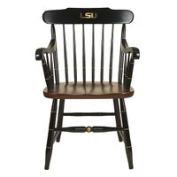 Louisiana State University Captain's Chair by Hitchcock