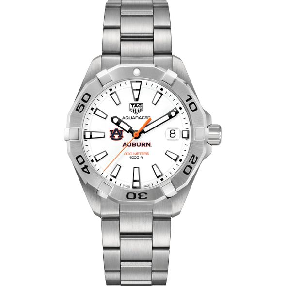 Auburn University Men's TAG Heuer Steel Aquaracer - Image 2