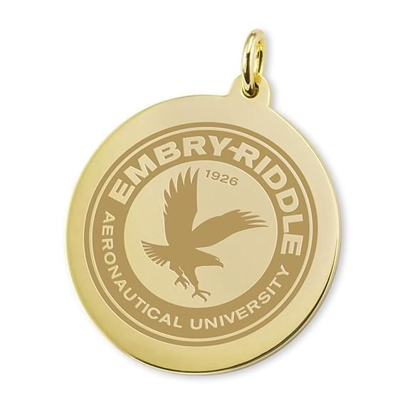 Embry-Riddle 18K Gold Charm