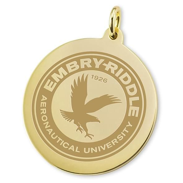 Embry-Riddle 18K Gold Charm - Image 2
