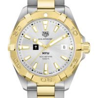 New York University Men's TAG Heuer Two-Tone Aquaracer