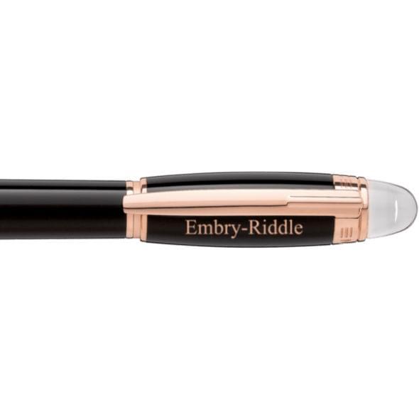 Embry-Riddle Montblanc StarWalker Fineliner Pen in Red Gold - Image 2