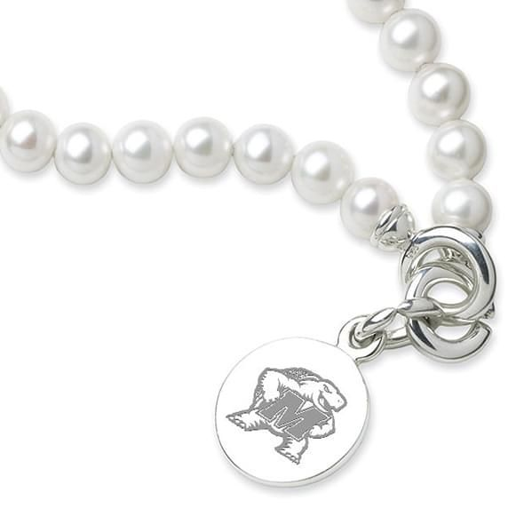 Maryland Pearl Bracelet with Sterling Silver Charm - Image 2