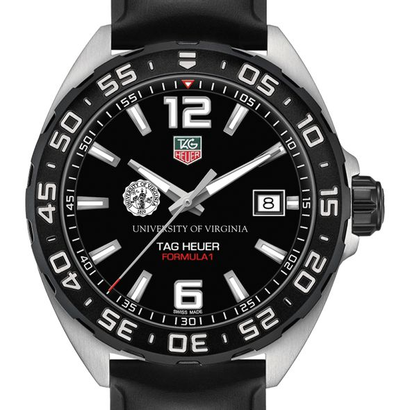University of Virginia Men's TAG Heuer Formula 1 with Black Dial