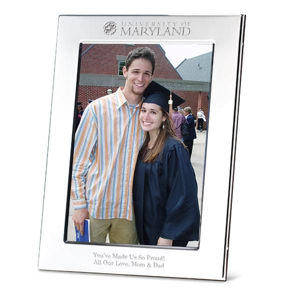 Maryland Polished Pewter 5x7 Picture Frame