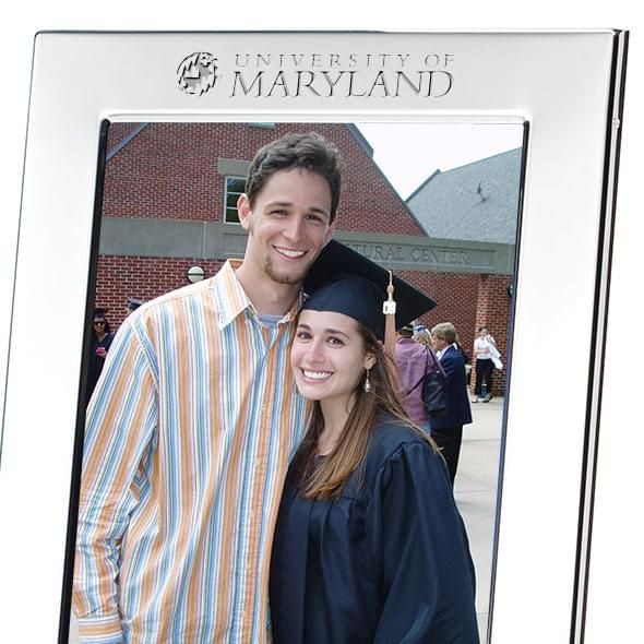 Maryland Polished Pewter 5x7 Picture Frame - Image 2