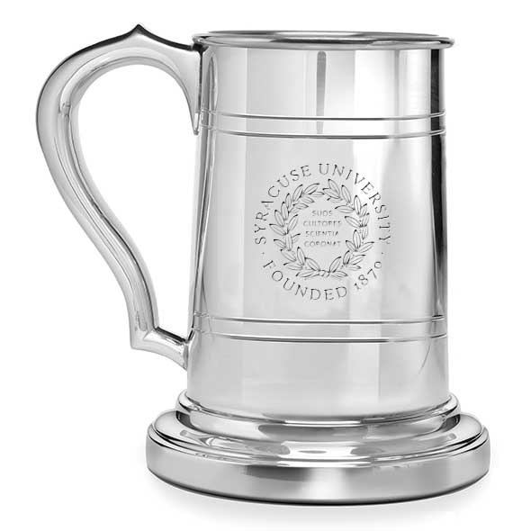 Syracuse University Pewter Stein