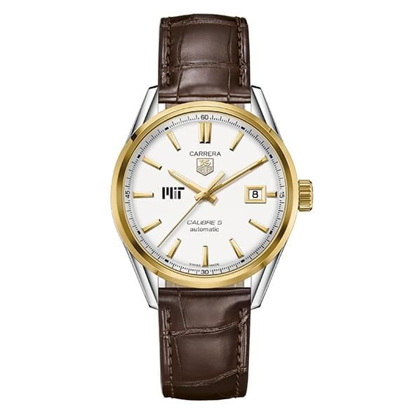 MIT Men's TAG Heuer Two-Tone Carrera with Strap - Image 2