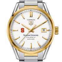Syracuse University Men's TAG Heuer Two-Tone Carrera with Bracelet