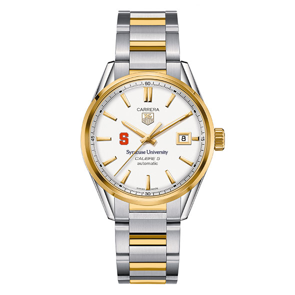 Syracuse University Men's TAG Heuer Two-Tone Carrera with Bracelet - Image 2