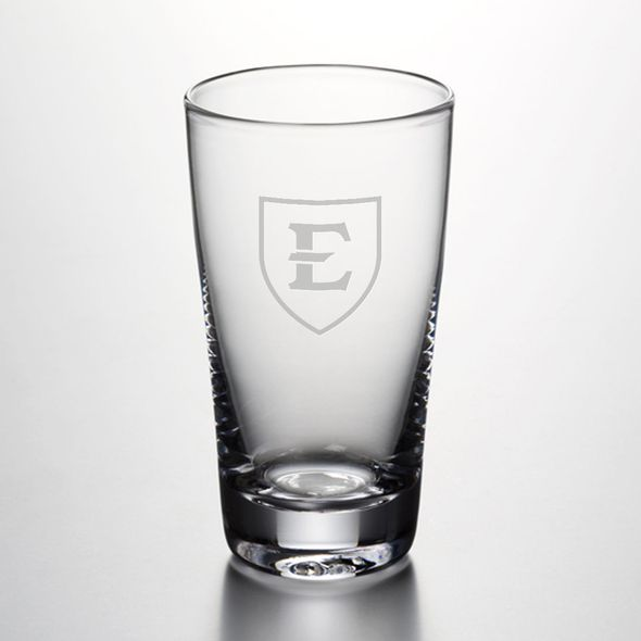 East Tennessee State University Ascutney Pint Glass by Simon Pearce