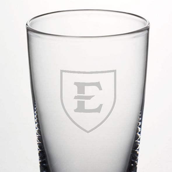 East Tennessee State University Ascutney Pint Glass by Simon Pearce - Image 2