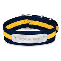 Georgia Tech NATO ID Bracelet