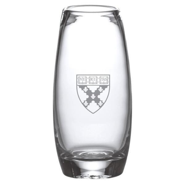 Harvard Business School Addison Glass Vase by Simon Pearce