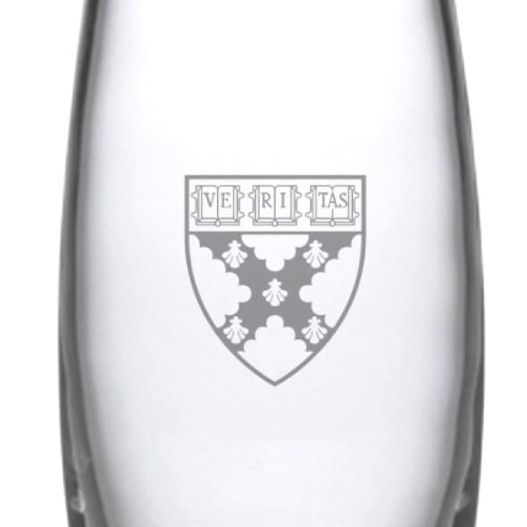 Harvard Business School Addison Glass Vase by Simon Pearce - Image 2