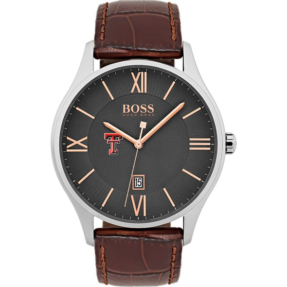 Texas Tech Men's BOSS Classic with Leather Strap from M.LaHart - Image 2