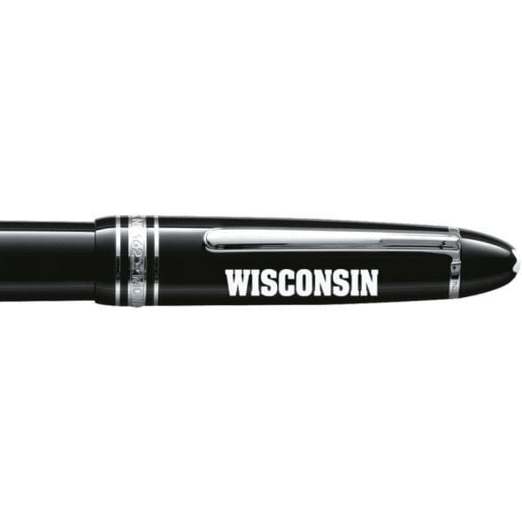Wisconsin Montblanc Meisterstück LeGrand Rollerball Pen in Platinum - Image 2