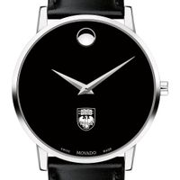 Chicago Men's Movado Museum with Leather Strap