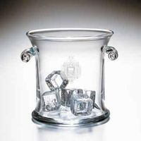 USNA Glass Ice Bucket by Simon Pearce