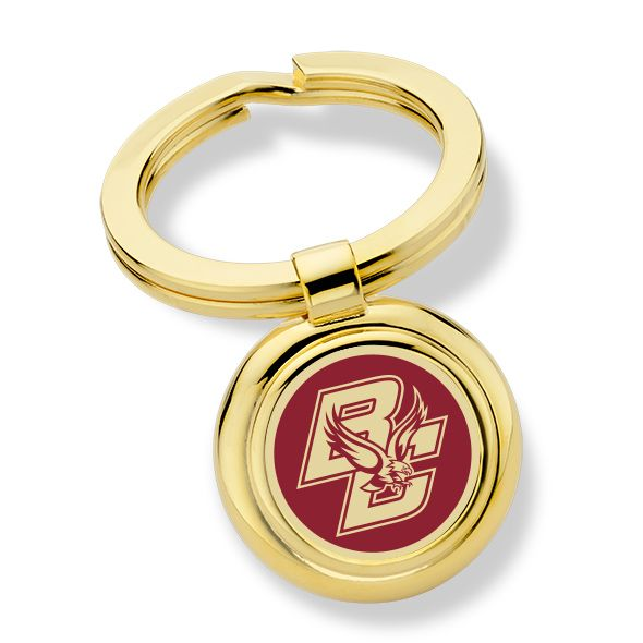 Boston College Enamel Key Ring