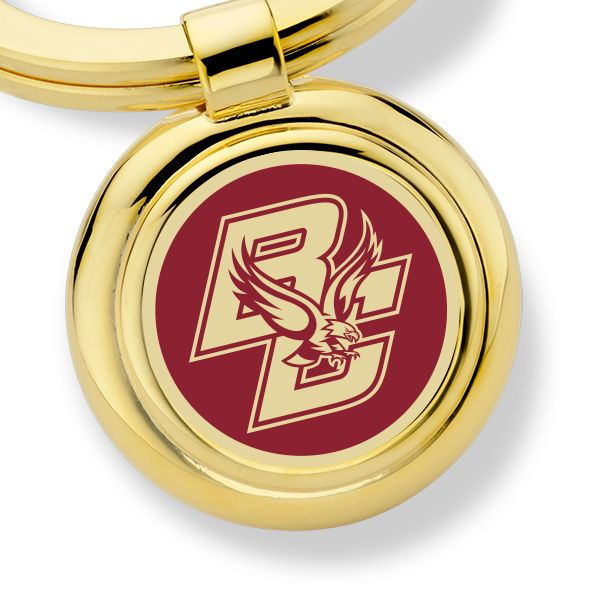 Boston College Enamel Key Ring - Image 2