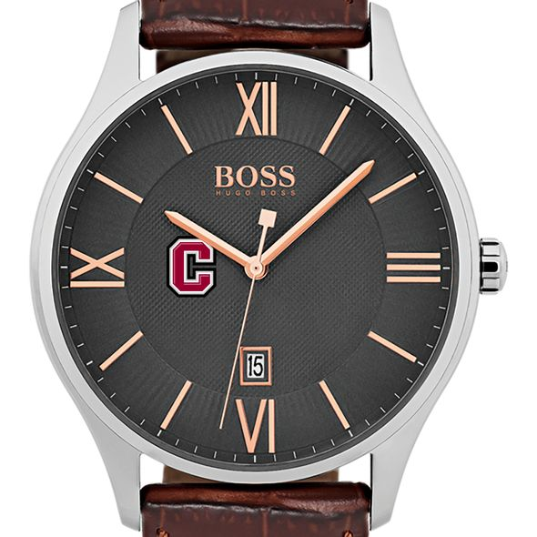 Colgate University Men's BOSS Classic with Leather Strap from M.LaHart