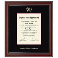 Virginia Military Institute Diploma Frame, the Fidelitas