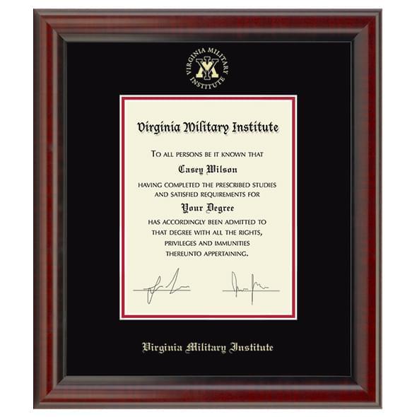 Official Virginia Military Institute Diploma Frame, the Fidelitas ...