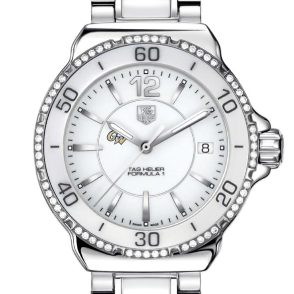 George Washington Women's TAG Heuer Formula 1 Ceramic Diamond Watch