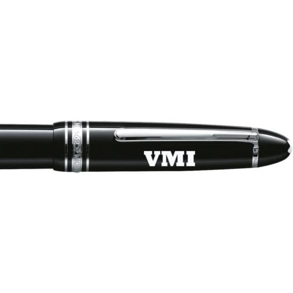 Virginia Military Institute Montblanc Meisterstück LeGrand Rollerball Pen in Platinum - Image 2