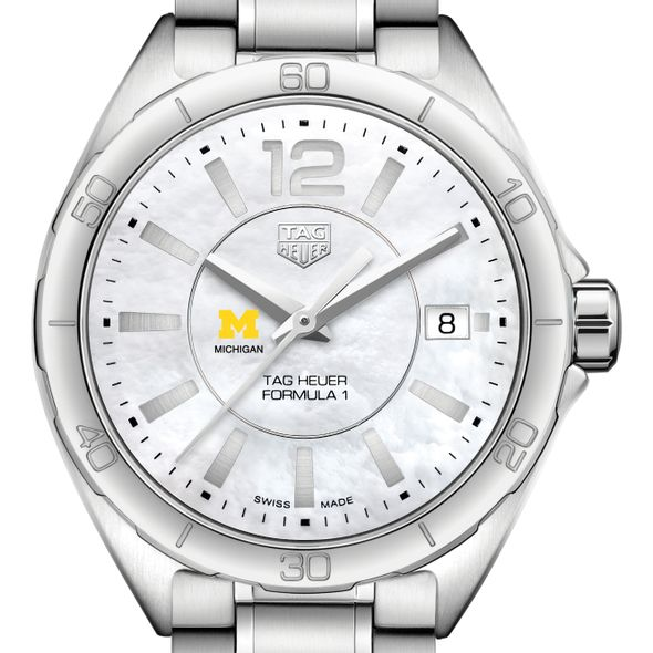 University of Michigan Women's TAG Heuer Formula 1 with MOP Dial
