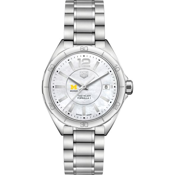 University of Michigan Women's TAG Heuer Formula 1 with MOP Dial - Image 2