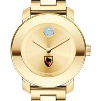 Carnegie Mellon University Women's Movado Gold Bold