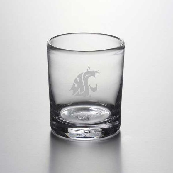 Washington State University Double Old Fashioned Glass by Simon Pearce