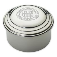 Cornell Pewter Keepsake Box