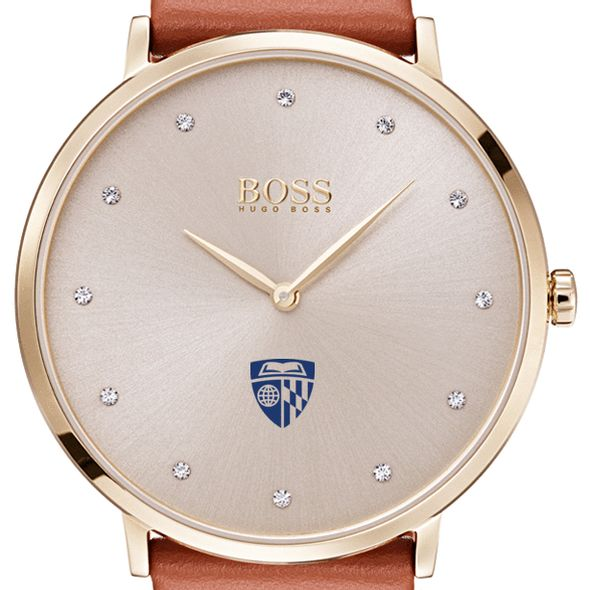 Johns Hopkins University Women's BOSS Champagne with Leather from M.LaHart