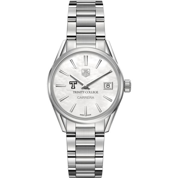 Trinity College Women's TAG Heuer Steel Carrera with MOP Dial - Image 2
