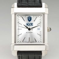 Old Dominion Men's Collegiate Watch with Leather Strap