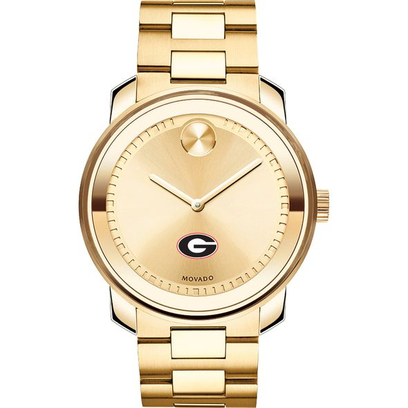 University of Georgia Men's Movado Gold Bold - Image 2