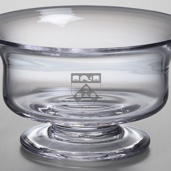 Penn Medium Glass Revere Bowl by Simon Pearce - Image 2