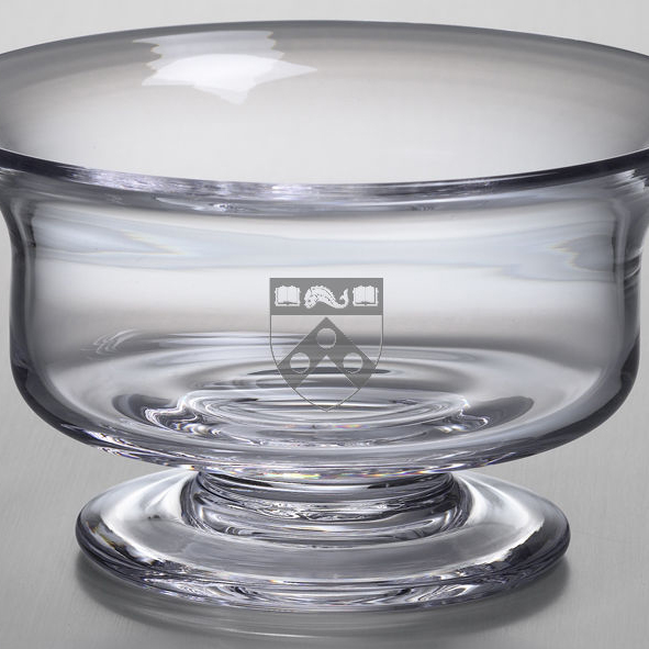 Penn Medium Glass Revere Bowl by Simon Pearce - Image 2