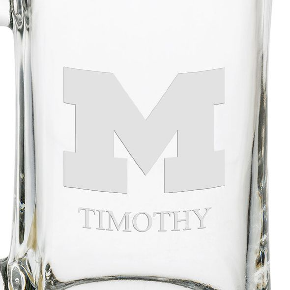 Michigan 25 oz Glass Stein - Image 3