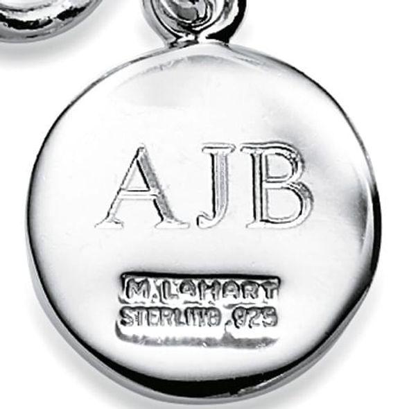 Baylor Pearl Bracelet with Sterling Silver Charm - Image 3